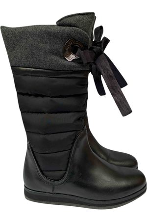 Moncler \N Leather Boots for Women