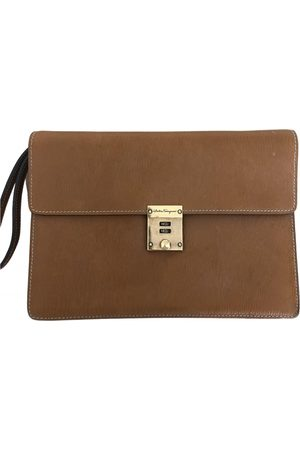 Salvatore Ferragamo VINTAGE \N Leather Clutch Bag for Women