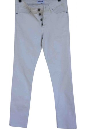 Zadig & Voltaire \N Cotton - elasthane Jeans for Men