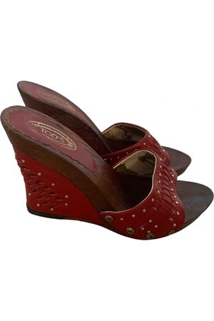 Tod's \N Leather Mules & Clogs for Women