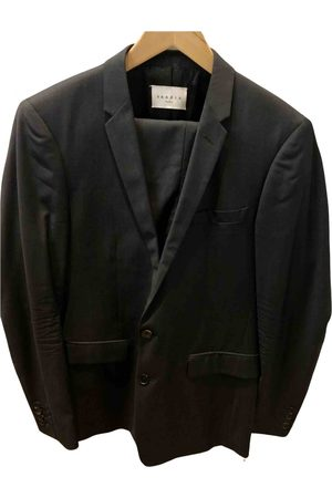 Sandro \N Wool Suits for Men