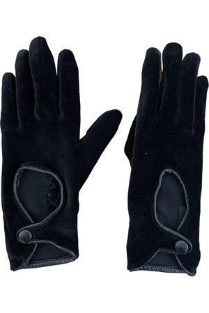 Sergio Rossi Velvet Gloves