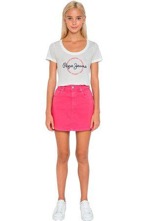 Pepe Jeans Women Mini Skirts - Rachel M Dark Chicle