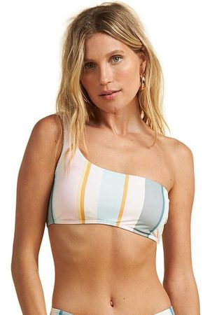 Billabong Women Swimwear - Feelin Salty 1 Shoulder Top M Multi