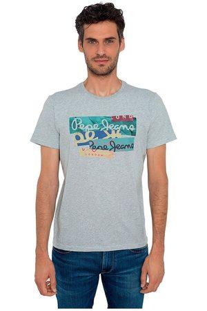 Pepe Jeans Men T-shirts - Mig L Grey Marl