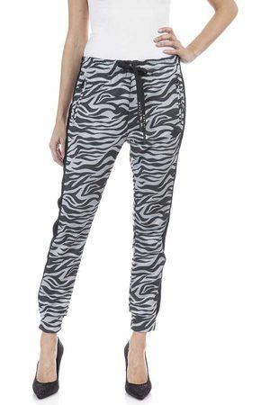 Replay Pants M Black / Light Grey