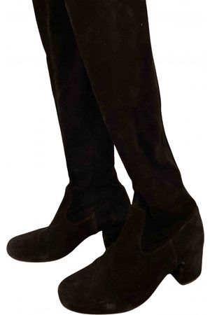 Maje Fall Winter 2019 Suede Boots for Women
