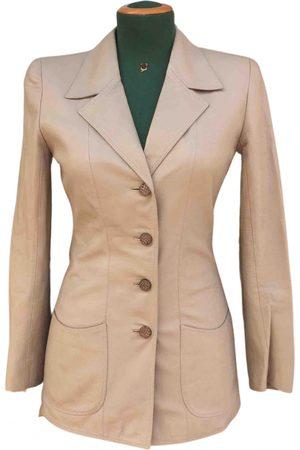 Emanuel Ungaro \N Leather Jacket for Women