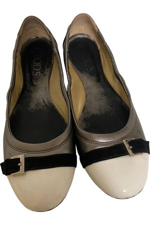 Tod's \N Leather Ballet flats for Women