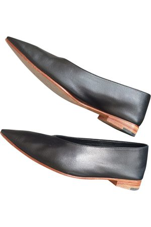 Martiniano \N Leather Ballet flats for Women