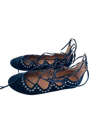 Isabel Marant Women Ballerinas - \N Velvet Ballet flats for Women