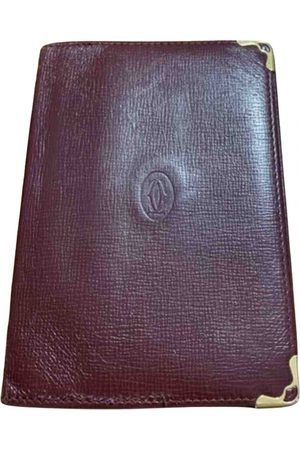 Cartier Men Wallets - \N Leather Small Bag, Wallet & cases for Men