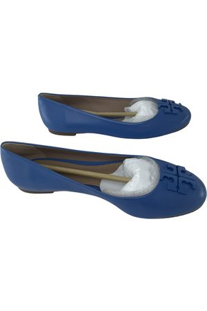 Tory Burch Women Ballerinas - \N Leather Ballet flats for Women