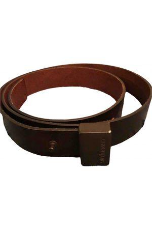 Cerruti 1881 \N Leather Belt for Men