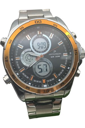 Paterson. Men Watches - Metallic Steel Watches