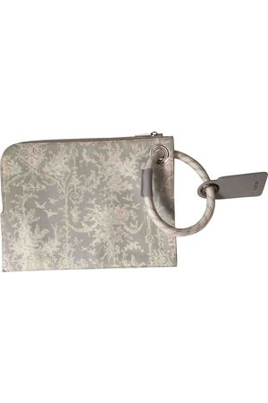 Dior Grey Cotton Small Bags\, Wallets & Cases