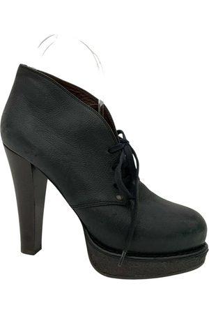 Bottega Veneta Women Ankle Boots - \N Leather Ankle boots for Women