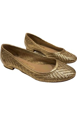 Salvatore Ferragamo Women Ballerinas - \N Leather Ballet flats for Women