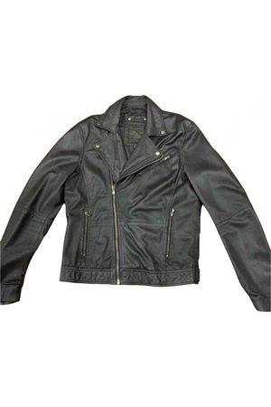 Pull&Bear Men Leather Jackets - \N Leather Jacket for Men