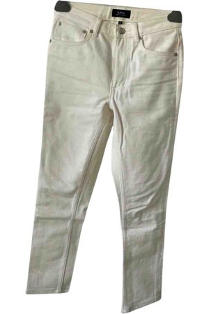 A.P.C. High Standard Cotton Jeans for Women