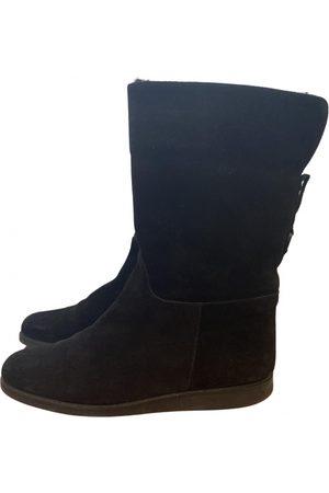 Salvatore Ferragamo Women Boots - \N Suede Boots for Women