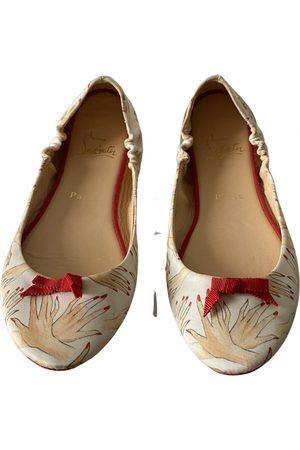 Christian Louboutin \N Leather Ballet flats for Women