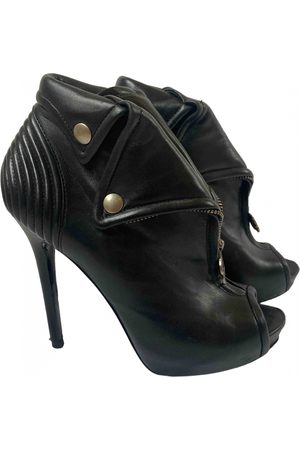 Alexander McQueen Women Ankle Boots - Leather Ankle Boots