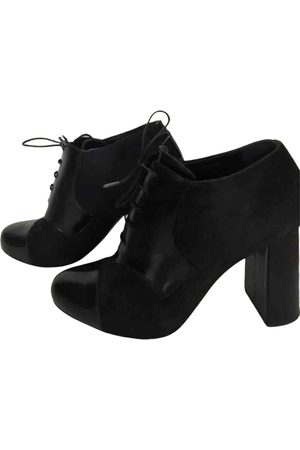 Max Mara Women Ankle Boots - \N Leather Ankle boots for Women