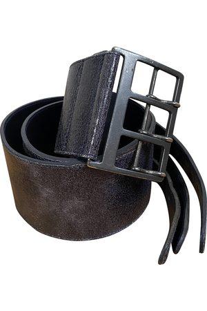 DRIES VAN NOTEN \N Leather Belt for Women