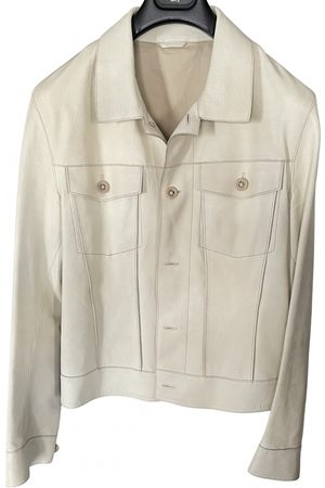 Bottega Veneta Men Leather Jackets - \N Leather Jacket for Men