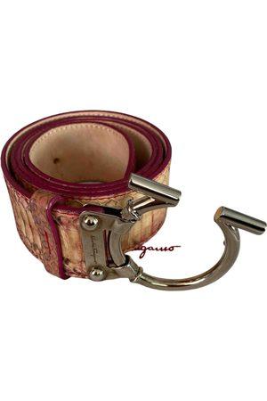 Salvatore Ferragamo Women Belts - \N Leather Belt for Women