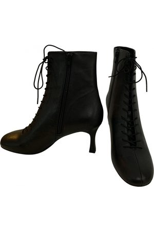 Reformation Women Ankle Boots - \N Leather Ankle boots for Women