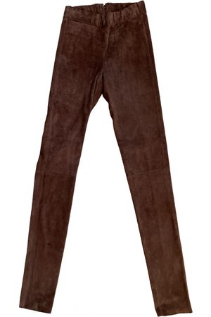 GOOSECRAFT Leather Trousers