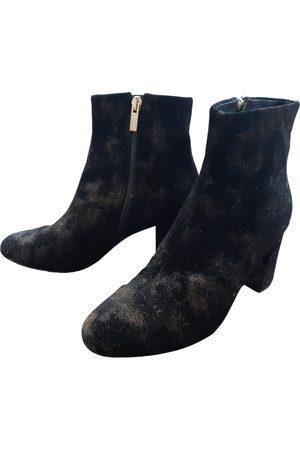 Morobé Women Ankle Boots - \N Velvet Ankle boots for Women