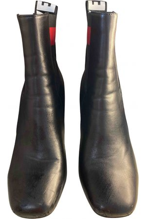 Unknown London \N Leather Ankle boots for Women