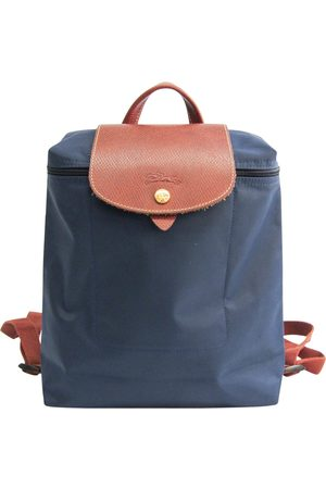 Longchamp Pliage Leather Backpack for Women