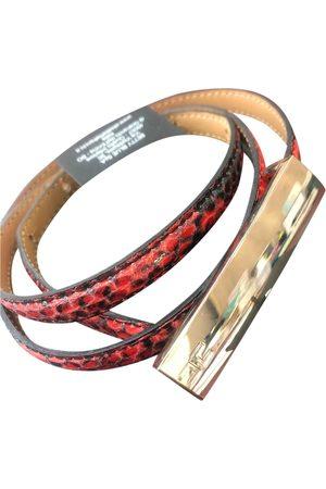 Elisabetta Franchi Women Belts - \N Leather Belt for Women