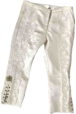 H&M Conscious Exclusive Silk Trousers
