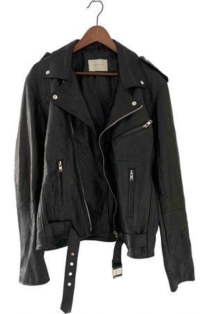 Deadwood Men Leather Jackets - \N Leather Jacket for Men