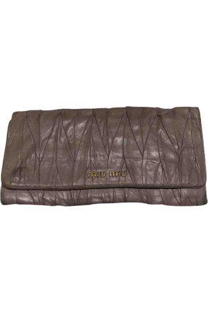 Miu Miu Women Clutches - Matelassé Cloth Clutch Bag for Women