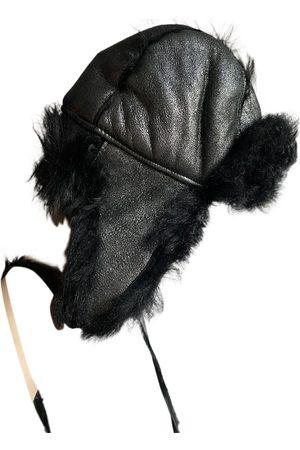 Dolce & Gabbana Women Hats - \N Leather Hat for Women