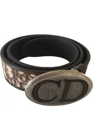 Dior Women Belts - VINTAGE \N Leather Belt for Women