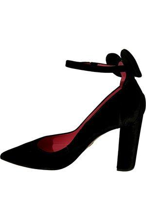 OSCAR TIYE Women Heels - \N Suede Heels for Women