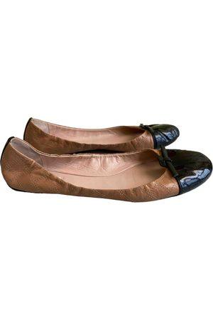 Marc Jacobs Women Ballerinas - \N Leather Ballet flats for Women