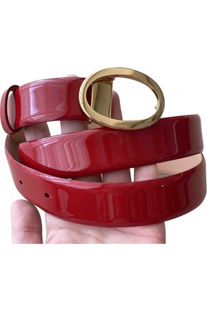 Cartier Women Belts - \N Patent leather Belt for Women