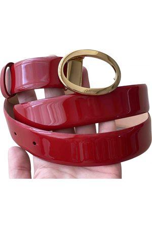 Cartier Women Belts - \N Patent leather Belt for Women