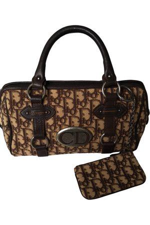 Dior VINTAGE Bowling Cloth Handbag for Women