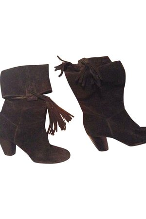 Maje \N Suede Ankle boots for Women