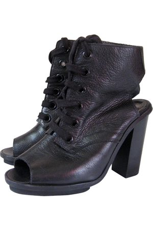 Claudie Pierlot \N Leather Ankle boots for Women