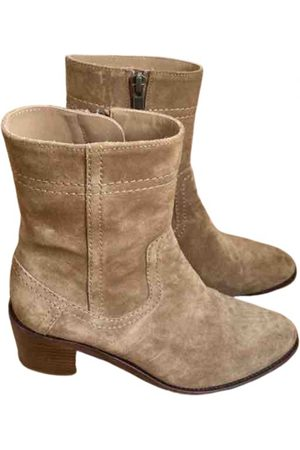A.P.C. \N Suede Ankle boots for Women